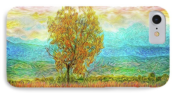 Peace Tree Sunset IPhone Case by Joel Bruce Wallach