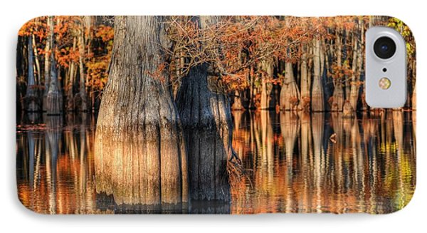 Peaceful Autumn Afternoon IPhone Case by Ester  Rogers