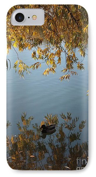 Peaceful Autumn Day IPhone Case