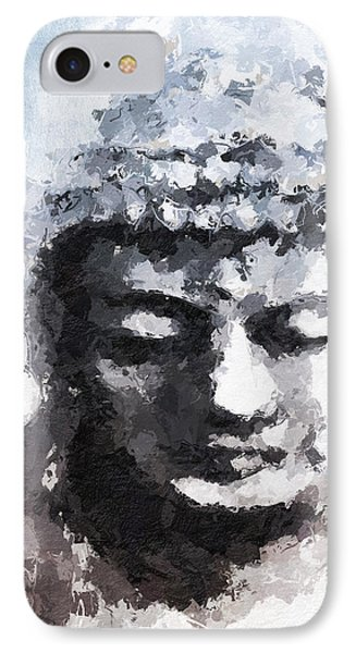 Peaceful Buddha- Art By Linda Woods IPhone Case