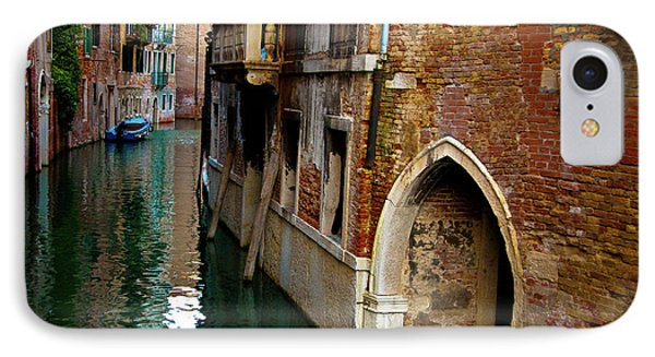 IPhone Case featuring the photograph Peaceful Canal by Harry Spitz