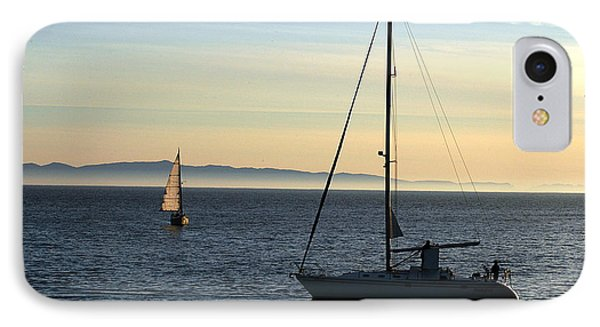 Peaceful Day In Santa Barbara IPhone Case by Clayton Bruster