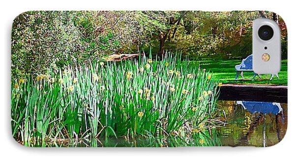 IPhone Case featuring the photograph Peaceful by Donna Bentley