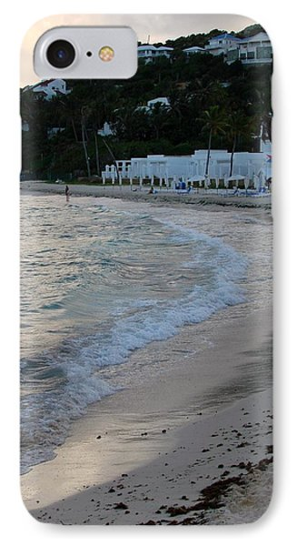 IPhone Case featuring the photograph Peaceful Evening On Dawn Beach by Margaret Bobb