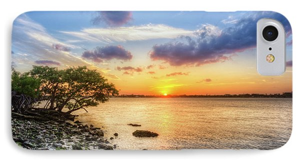 IPhone Case featuring the photograph Peaceful Evening On The Waterway by Debra and Dave Vanderlaan