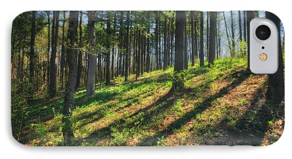 Peaceful Forest 4 - Spring At Retzer Nature Center IPhone Case by Jennifer Rondinelli Reilly - Fine Art Photography