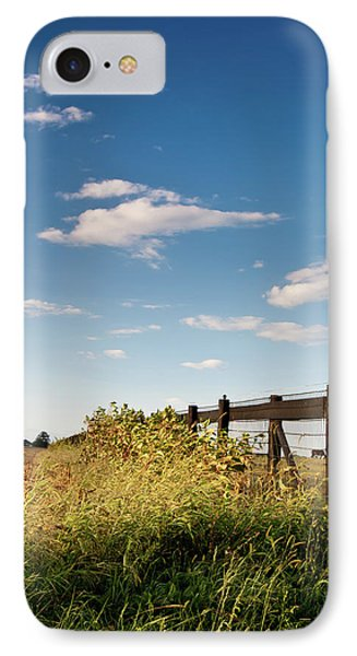 Peaceful Grazing IPhone Case by David Sutton