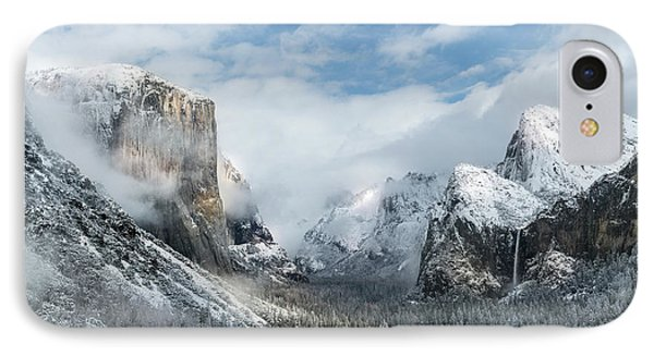 IPhone Case featuring the photograph Peaceful Moments - Yosemite Valley by Sandra Bronstein