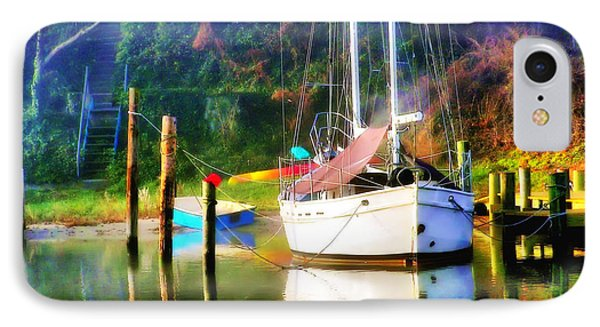 IPhone Case featuring the photograph Peaceful Morning In The Cove by Brian Wallace