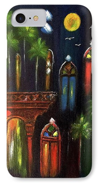 Peaceful Night  IPhone Case by Siran Ajel