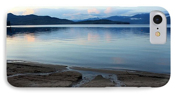 Peaceful Priest Lake Phone Case by Carol Groenen