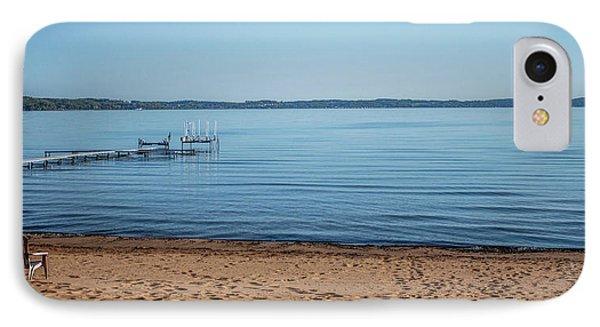 IPhone Case featuring the photograph Grand Traverse Bay Beach-michigan  by Joann Copeland-Paul