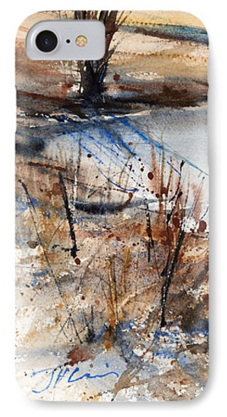 Peaceful Stream IPhone Case by Judith Levins