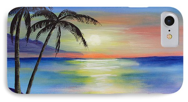 Peaceful Sunset IPhone Case by Luis F Rodriguez