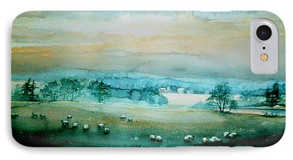 Peaceful Valley IPhone Case by Hanne Lore Koehler