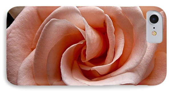 Peach-colored Rose IPhone Case by Sean Griffin