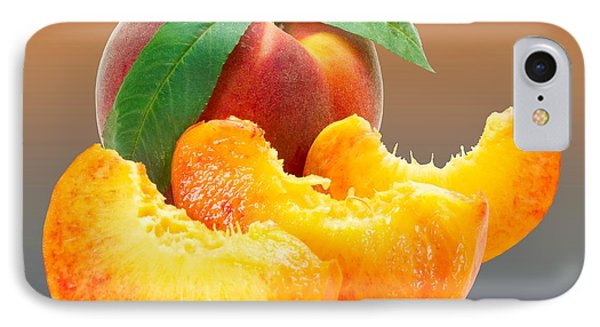 Peach Sliced  IPhone Case by Movie Poster Prints