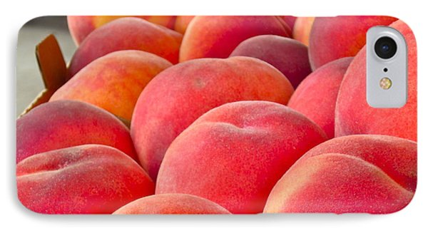 Peaches For Sale IPhone Case by Gwyn Newcombe