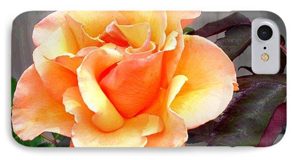Peaches N' Cream Phone Case by Joyce Dickens