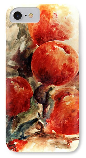 Peaches Phone Case by Rachel Christine Nowicki