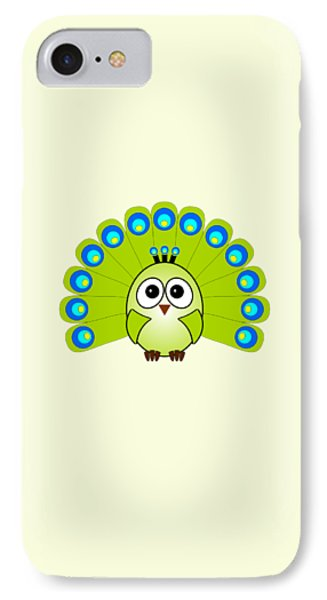 Peacock  - Birds - Art For Kids IPhone Case