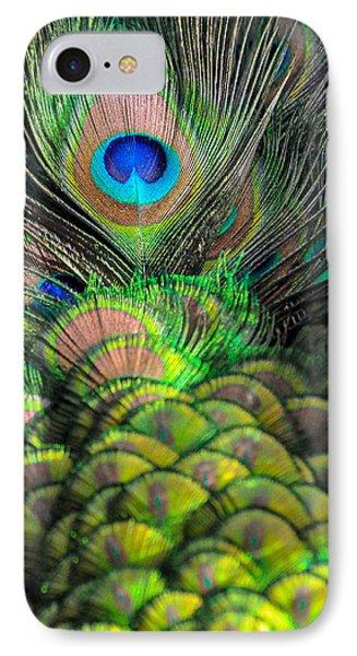 Peacock Brilliance Phone Case by Emilia Brasier