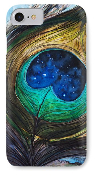 Peacock Feather Phone Case by Tara Thelen