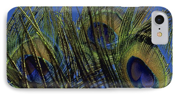 Peacock Feathers IPhone Case by Michael Mogensen