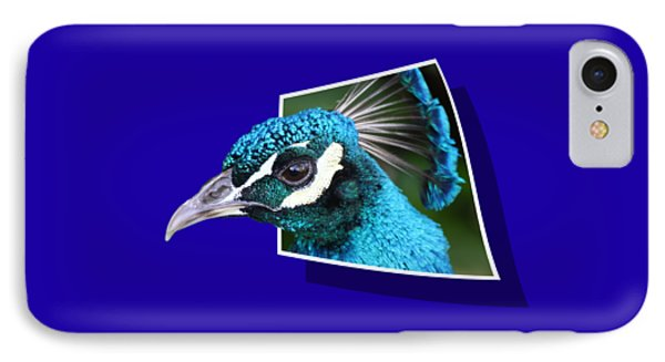 Peacock Phone Case by Shane Bechler