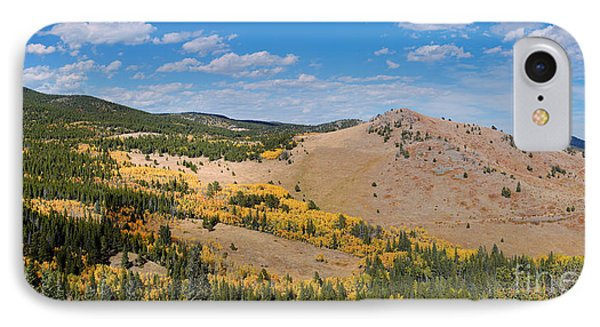 Peak To Peak Highway Fall Foliage In The Rocky Mountains - Boulder County Colorado State IPhone Case by Silvio Ligutti