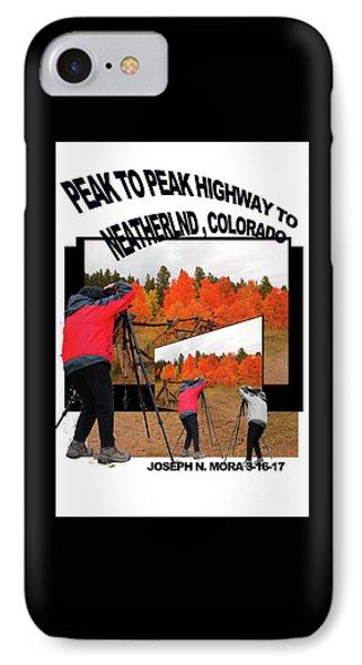 Peak To Peak Highway IPhone Case