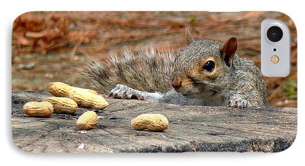 Peanut Surprise Phone Case by Sue Melvin