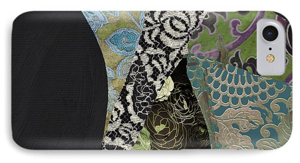 Pear Brocade II IPhone Case by Mindy Sommers