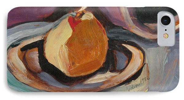 IPhone Case featuring the painting Pear by Daun Soden-Greene