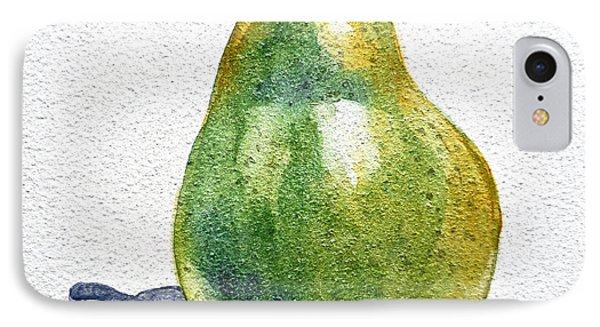 Pear IPhone Case by Irina Sztukowski