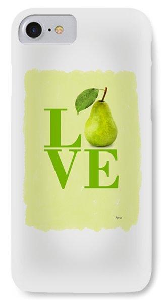 Pear IPhone Case by Mark Rogan