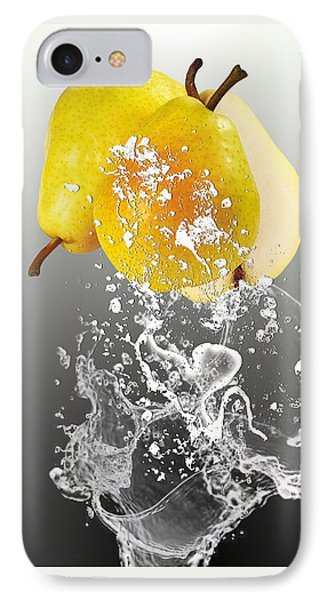 Pear Splash Collection IPhone Case by Marvin Blaine