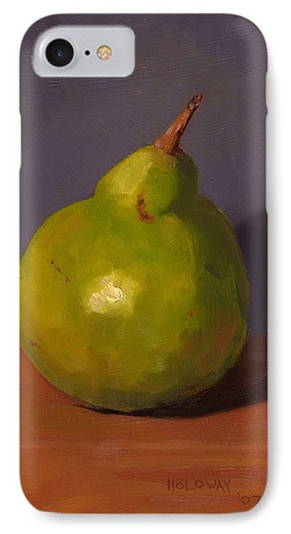 Pear With Gray IPhone Case