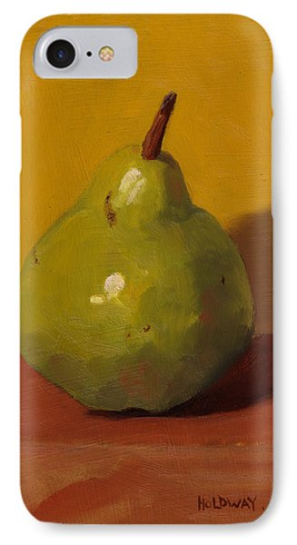 Pear With Yellow IPhone Case