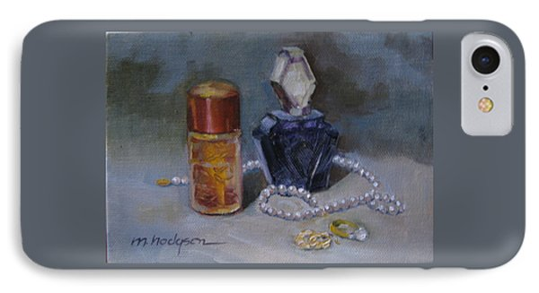 Pearls And Perfumes Phone Case by Margaret Hodgson