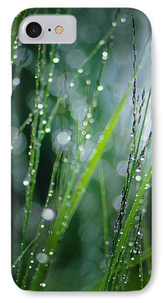 Pearls Of Dew Phone Case by Silke Magino