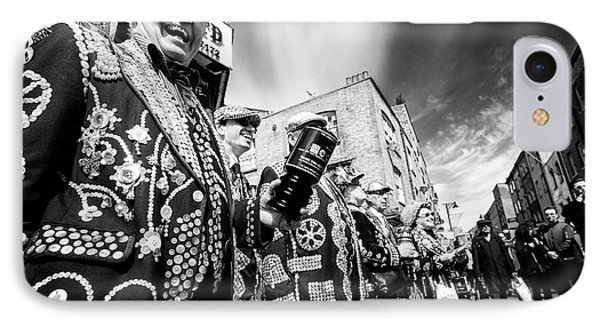 Pearly Kings And Queens Of London Hoxton Brick Lane IPhone Case by John Williams