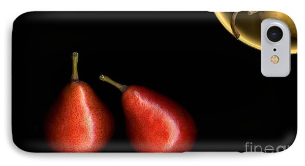 Pears And Bowl IPhone Case by Christian Slanec