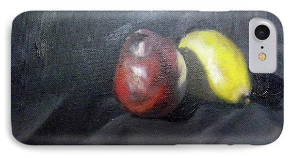 Pears IPhone Case by Becky Chappell