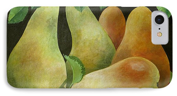 Pears IPhone Case by Jennifer Abbot