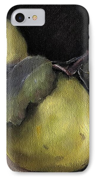 Pears Stilllife Painting IPhone Case