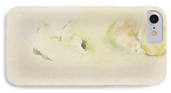 IPhone Case featuring the painting Pears Two by Daun Soden-Greene