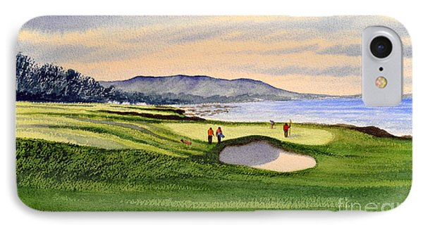 Pebble Beach Golf Course IPhone Case