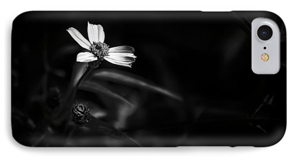 Peddling Slow Bw IPhone Case by Marvin Spates