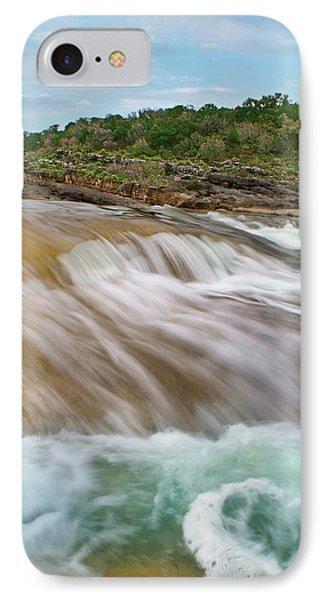 Pedernales Falls IPhone Case by Tim Fitzharris